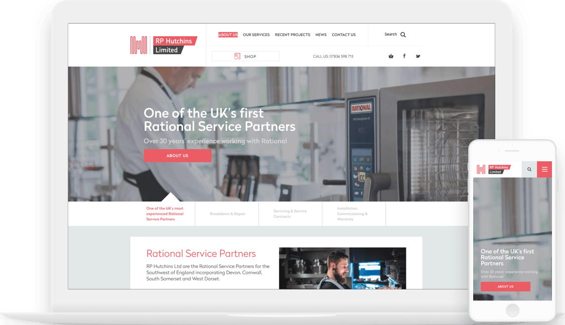RP Hutchins Ltd homepage image